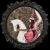 All the Princesses- Ephemera Brad 59