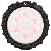 All the Princesses- Pink Doily Brad