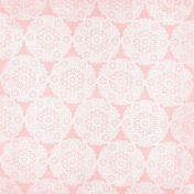 All The Princesses- Pink Doily Paper