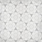 All The Princesses- Gray Doily Paper
