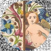 All the Princesses - Ephemera Brad Disk 09