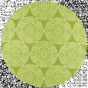All the Princesses- Green Doily Brad Disk 01
