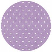 All the Princesses- Purple Dotted Brad Disk