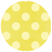 All the Princesses- Yellow Dotted Brad Disk