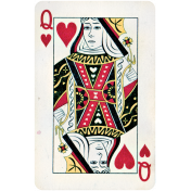 All the Princesses- Queen Card
