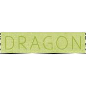 All the Princess- Dragon Word Art