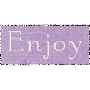 All the Princess- Enjoy Word Art