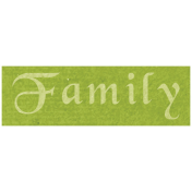 All the Princess- Family Word Art
