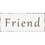 All the Princess- Friend Word Art