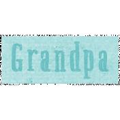 All the Princess- Grandpa Word Art