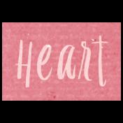 All the Princess- Heart Word Art