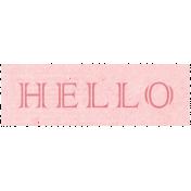 All the Princess- Hello Word Art