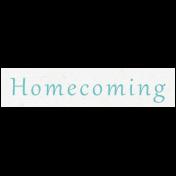 All the Princess- Homecoming Word Art