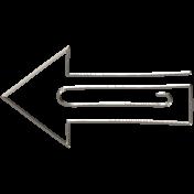 All the Princesses- Arrow Doodle Clip