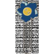 All the Princesses- Flower Doodle Clip 19