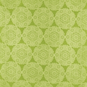 All The Princesses- Green Doily Paper