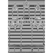 Metal Frame Template 037
