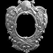 Medal Frame Template 001