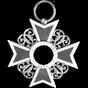 Medal Frame Template 003