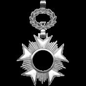 Medal Frame Template 004