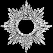 Medal Frame Template 005