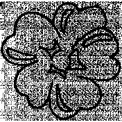Flower Doodle Template 079