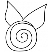 Flower Doodle Template 081