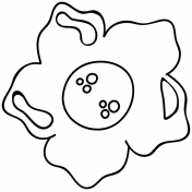 Flower Doodle Template 082
