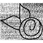 Flower Doodle Template 083