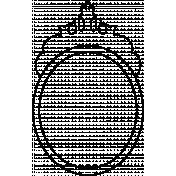 Frame Doodle Template 023