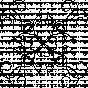 Ornamental Doodle Template 017
