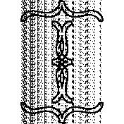 Ornamental Doodle Template 018