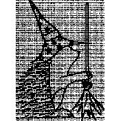 Hedgehog Doodle Template 03