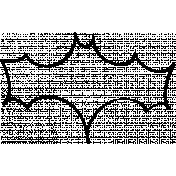 Bat Doodle Template 01