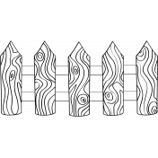 Fence Doodle Template 01