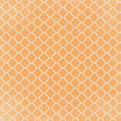 Orange Ornamental Paper