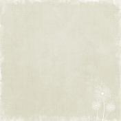 Cream Dandelion Paper
