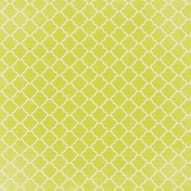 Yellow Ornamental Paper