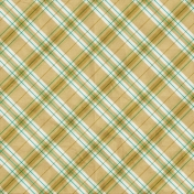 Garden Party Plaid Paper