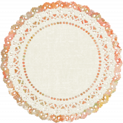 Fall Into Autumn- Doily