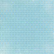 Garden Party Blue Ornamental Paper