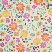 Garden Party Floral Paper 02