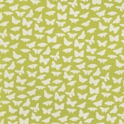 Garden Party Yellow Butterfly Paper