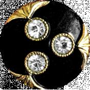 Chills & Thrills Black Button 01