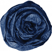 Chills & Thrills Blue Paper Flower