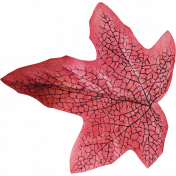 Fall Into Autumn- Silk Leaf 3
