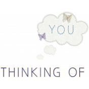 Love Notes- Thinking of You Word Art