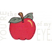 Love Notes- Apple Word Art