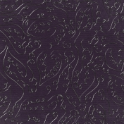 Fall Into Autumn- Purple Metal Leaves Paper