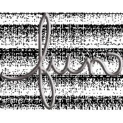Fall Into Autumn- Fun Wire Word Art
